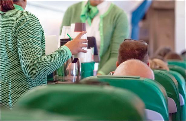 Негигиеничный поступок стюардессы вызвал отвращение упилота