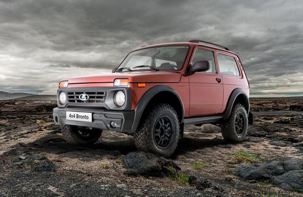Новое поколение внедорожника Lada Niva появится в2024 году