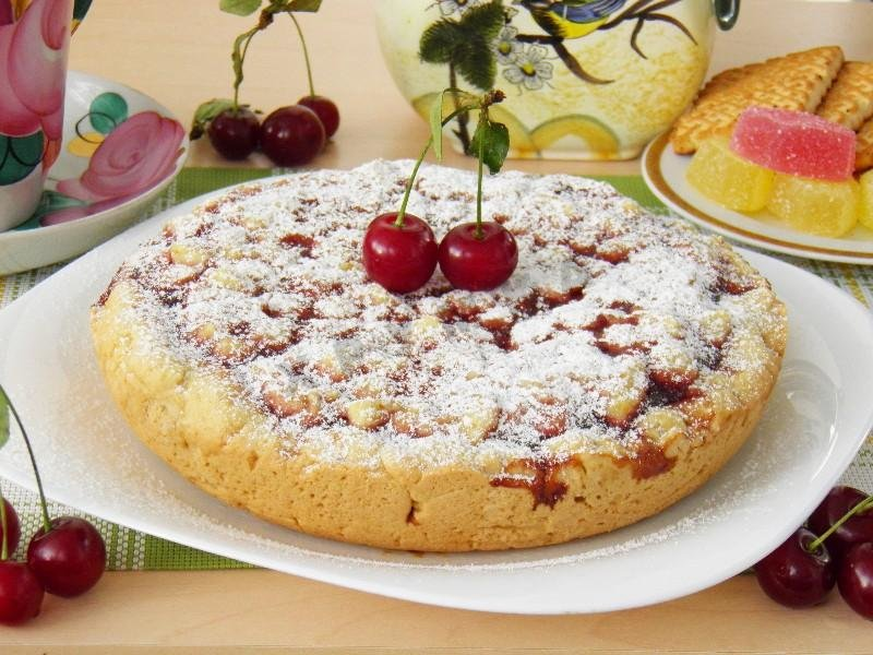 Рецепты пирог быстро с вареньем