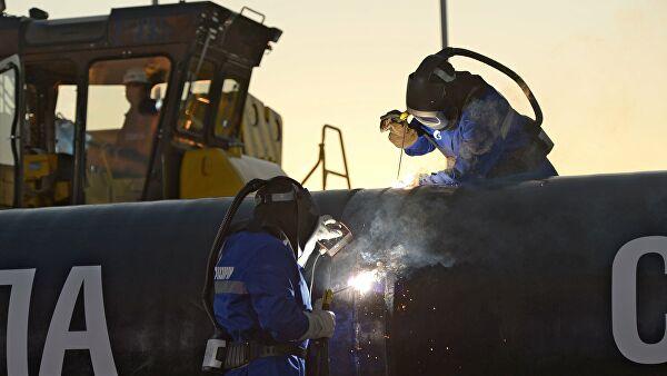 «Газпром» создал вМонголии компанию дляпродолжения «Силы Сибири— 2»
