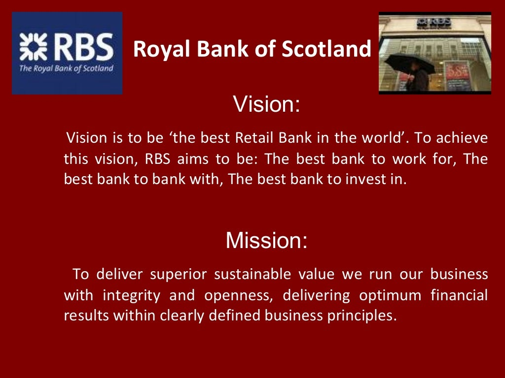Royalbank business model generation results
