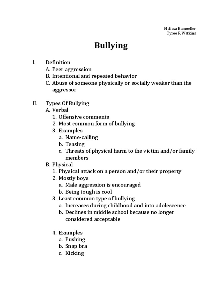Write my argumentative research paper on bullying