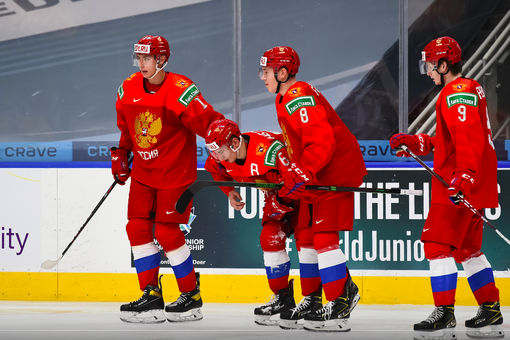 Объявлен состав сборной России начетвертьфинальный матч МЧМ-2021