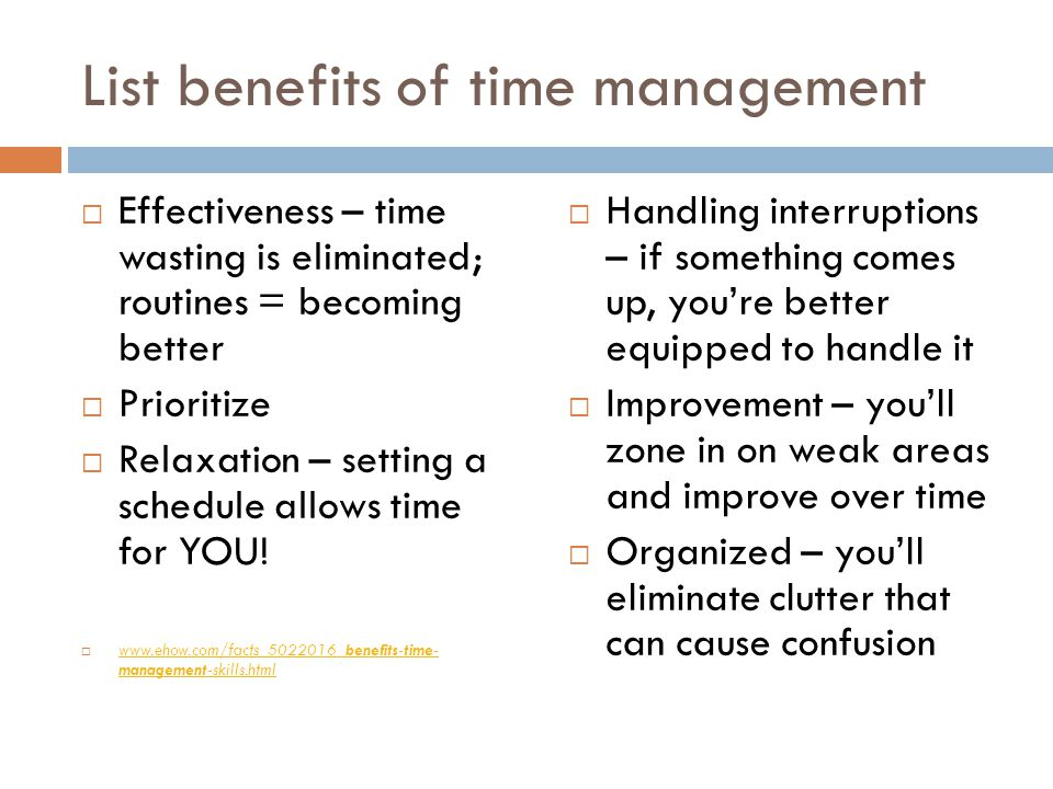 Free Essays on Time management essay
