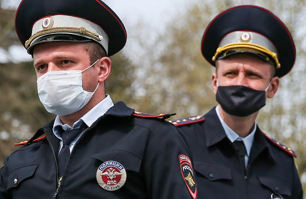 Полицейские вМоскве потеряли голову ируки