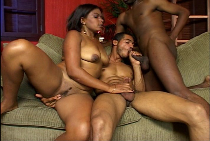 Bi Black Male Threesome