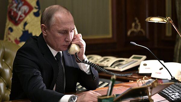 Путин пока несобирается говорить сТрампом потелефону