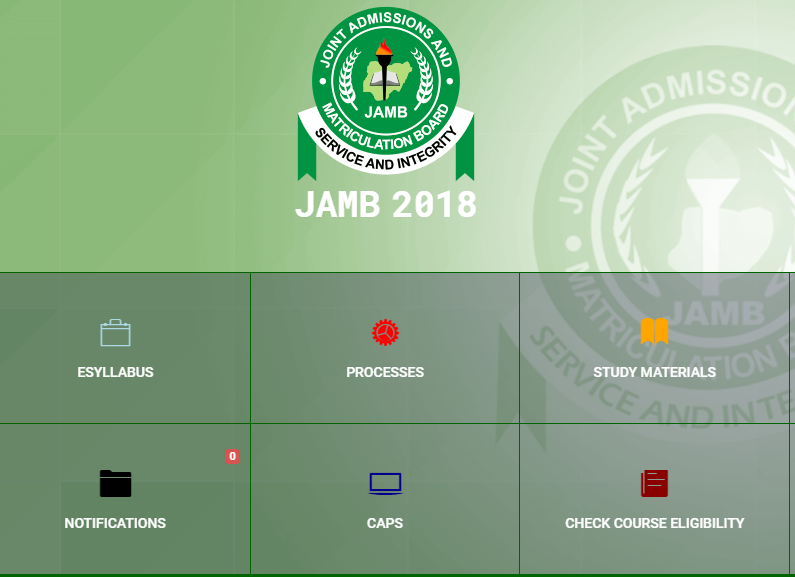 Download Current All In One Official JAMB Brochure