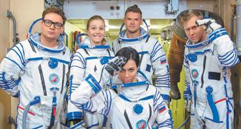 Яглыч иСамбурская стали космонавтами