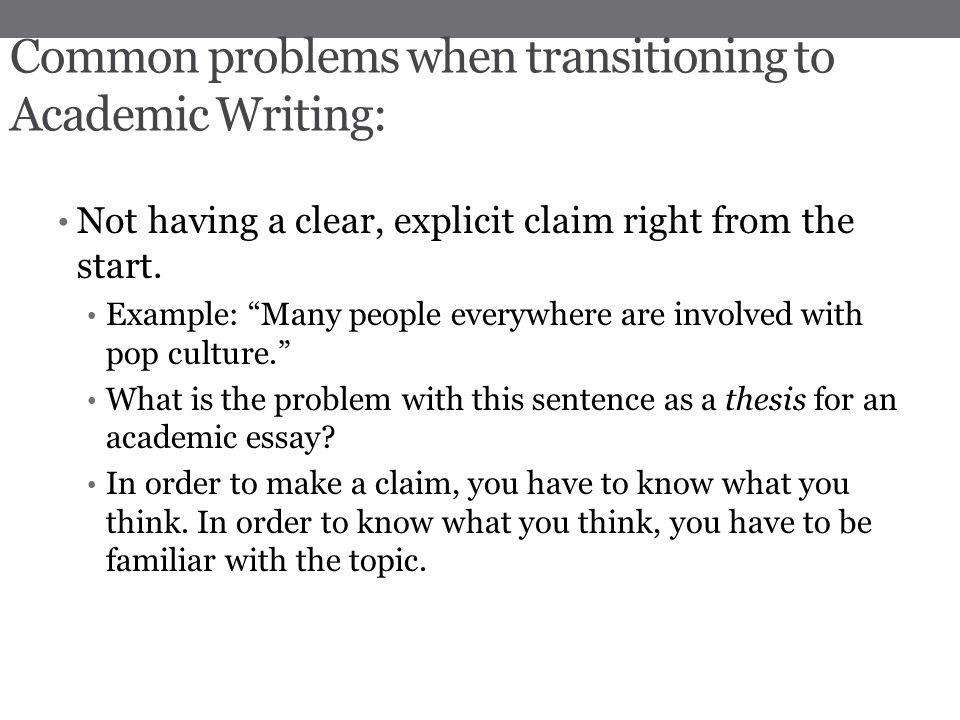 Write my academic challenges essay
