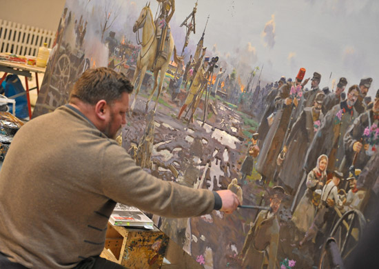 Потомкам воинов Великой Отечественной войны вручат копии фронтовых портретов ихродных