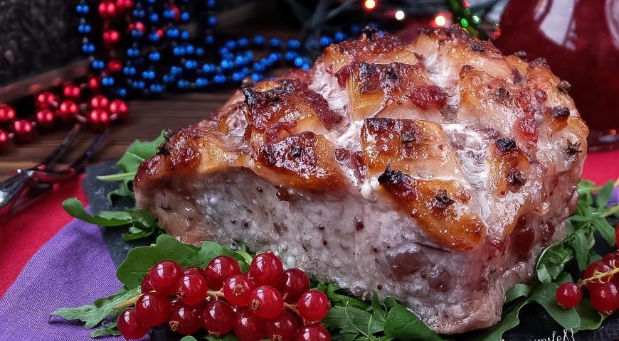 Праздничные блюда из свинины рецепты с фото