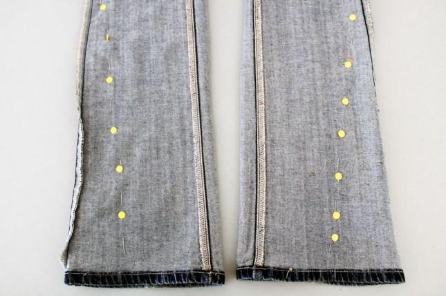 как шить из джинс