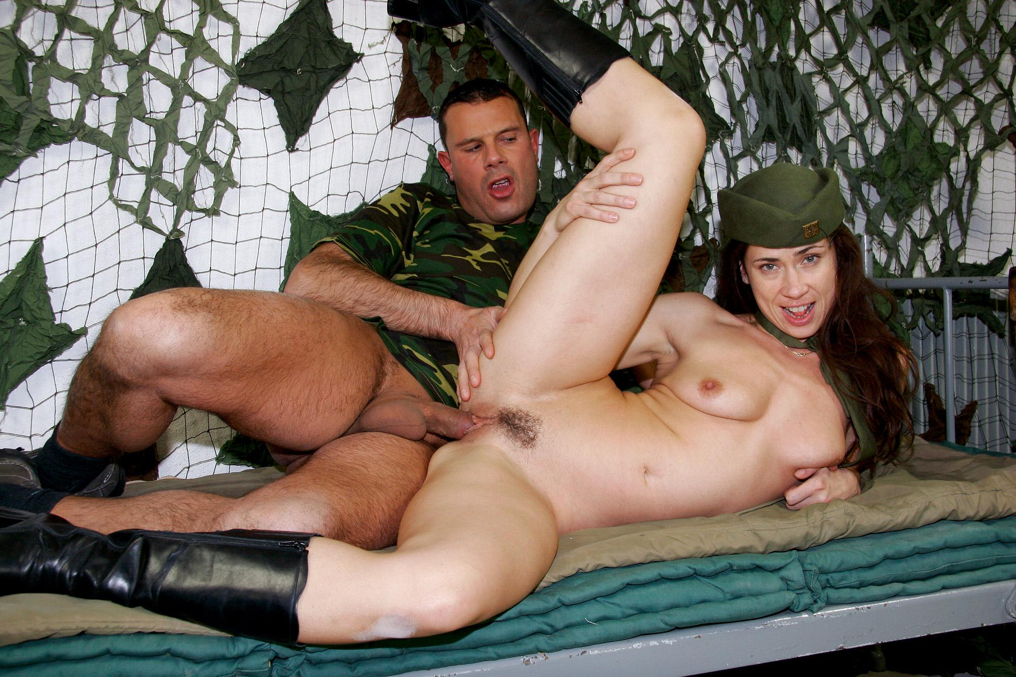 Wife fucks military man porn #4