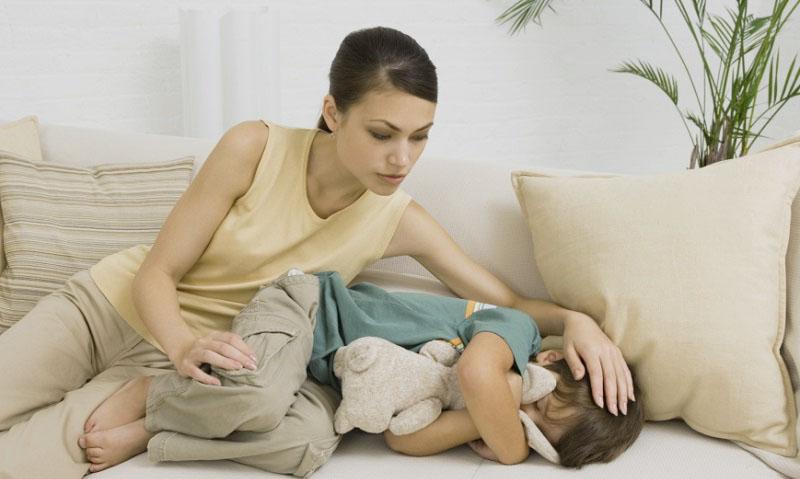 Болит живот и температура 38 у ребенка 6 лет