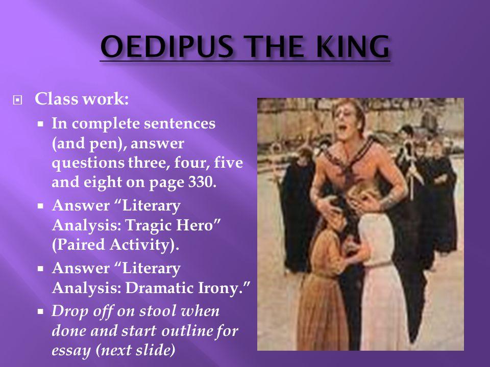 Write my oedipus the king essay topics