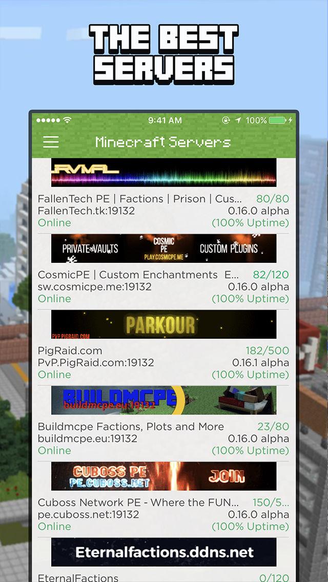Minecraft pe dating server ip