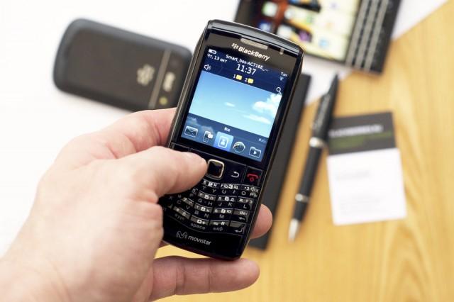 Blackberry manuell synchronisieren
