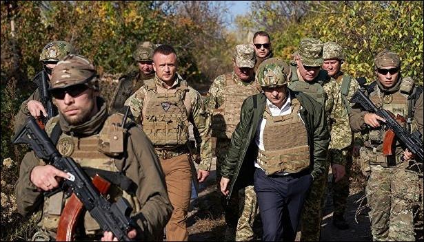 Зеленский отправил вКосово украинских военных