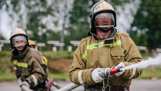 Пожар произошел вчетырехэтажном доме вРостове-на-Дону