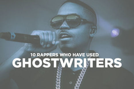 Write my rappers that use ghostwriters
