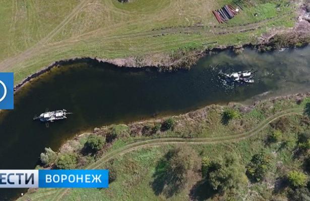 ВВоронежской области река Битюг возвращается висторическое русло