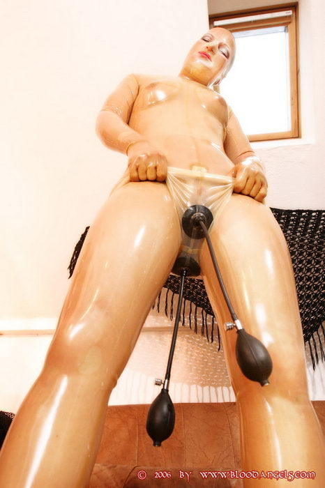 Lesbian play with dildo