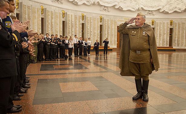 ВМузее Победы отметили «День вмузее дляроссийских кадет»