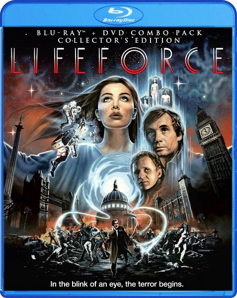 Blu-ray review - Lifeforce (1985) - Tobe Hooper's space