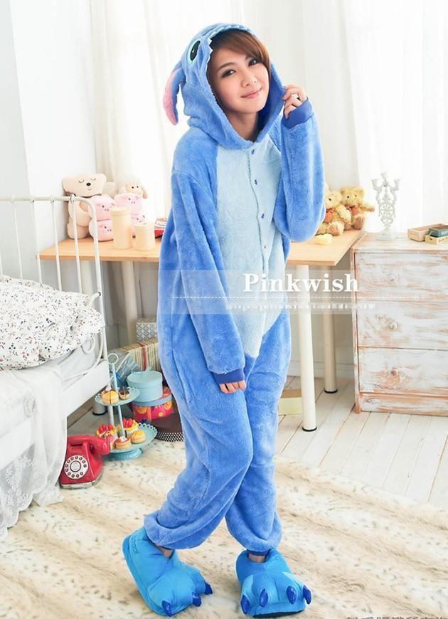 a8d77e158827 Disney Stitch Adult Onesie Kigurumi - Cosy Pajamas