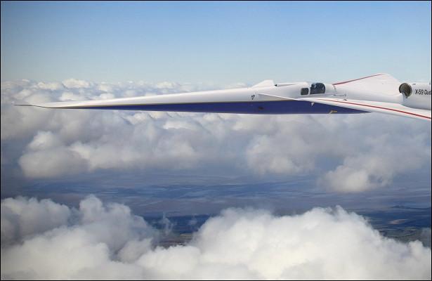 Полёт «тихого» сверхзвукового самолёта отменён