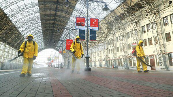 ВМоскве возобновят дезинфекцию общественных мест