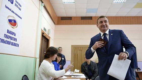 Алексей Дюмин лидирует навыборах тульского губернатора