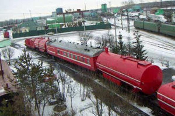 пожарный поезд г уссурийск фото ещё одна
