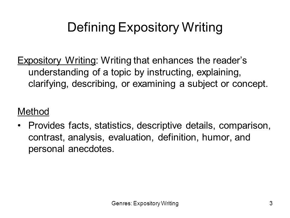 Write my can you use i in an expository essay