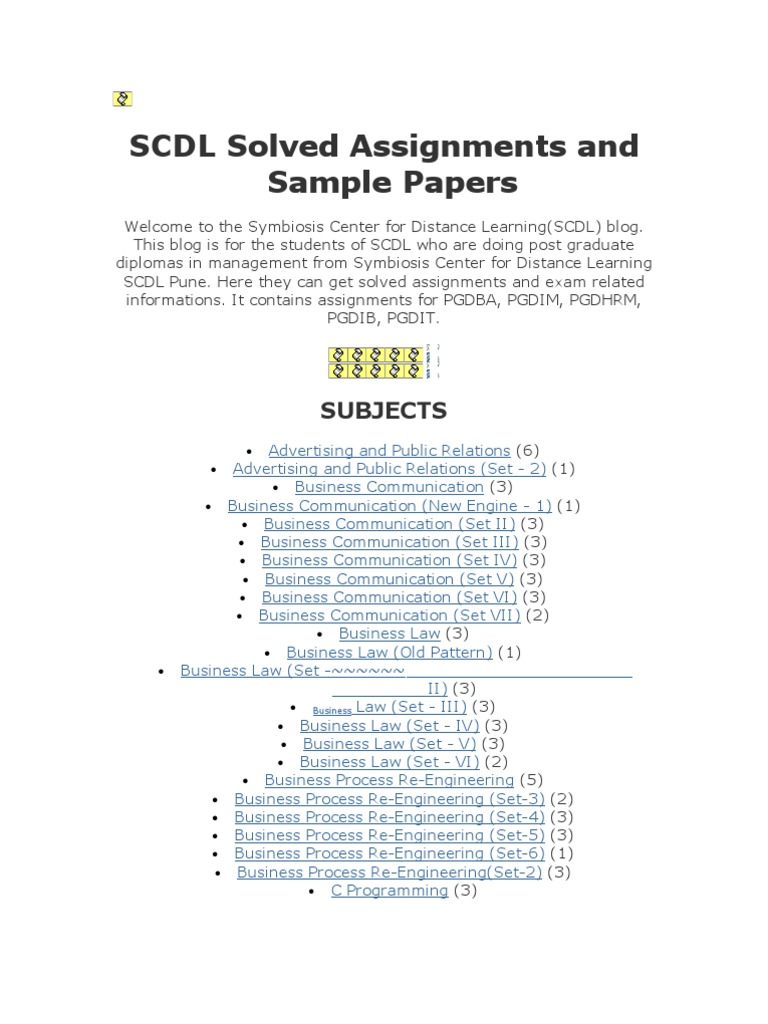 Write my management accounting scdl solved paper