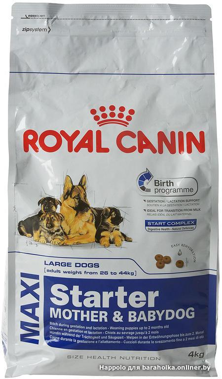 Корм royal canin babydog