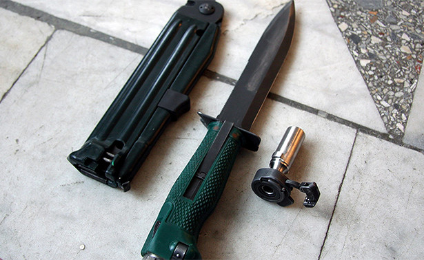Буду резать, буду бить: стреляющий ножубивает надальности в25метров