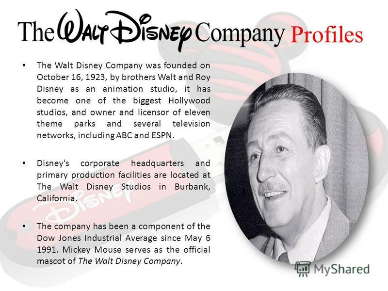 Free essays on walt disney