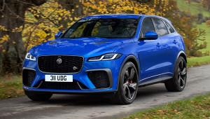 Jaguar обновил спорт-версию кроссовера F-Pace