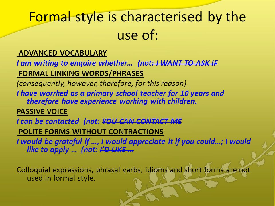 Common Mistakes to Avoid in Formal Writing