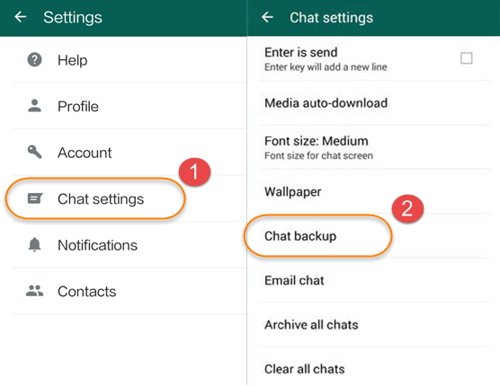 How to Backup and Restore WhatsApp Messages from Google