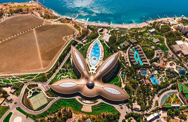 Крымский отель признан лучшим вЕвропе