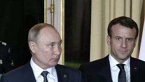 Конфликт вКарабахе: Макрон позвонил Путину
