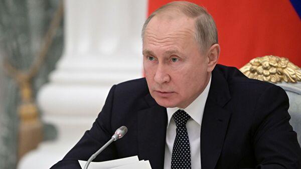 Путин потребовал незатягивать смерами поподдержке самозанятых