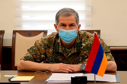 Стало известно опланах властей Армении арестовать главу Генштаба