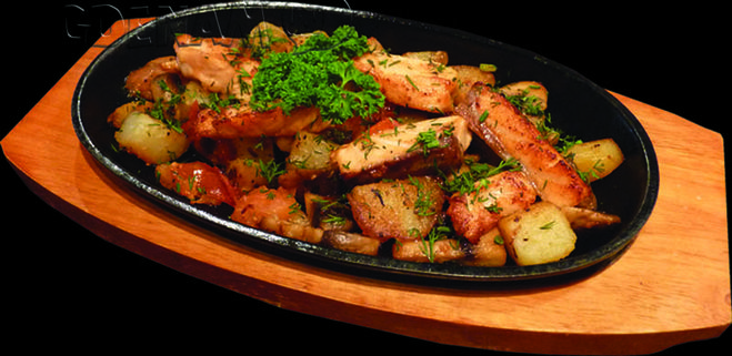 рецепт жарки свинины сковороде фото
