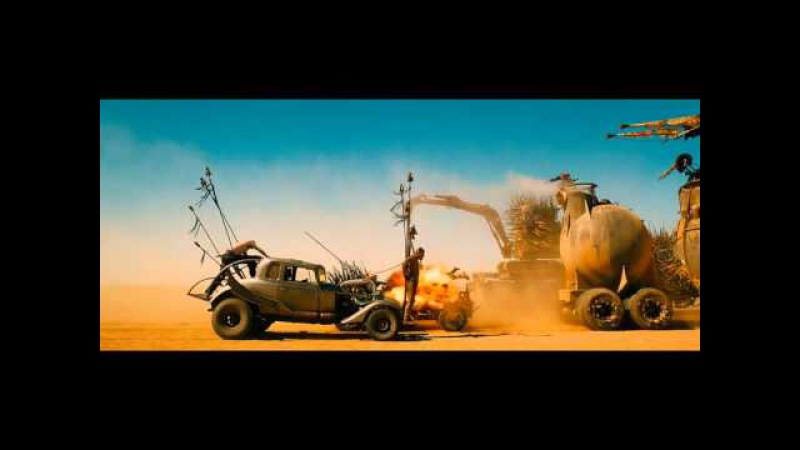 Mad Max Fury Road 2015 Dual Audio Hindi Cleaned HDRip