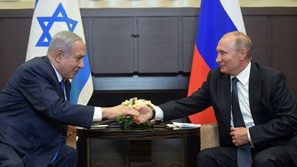 Путин иНетаньяху обсудили развитие ситуации вСирии