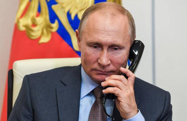 Раскрыто условие дляразговора Путина иЗеленского
